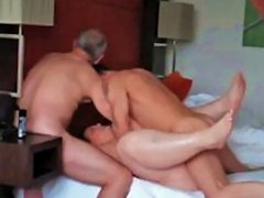 2 Older Guys Fucking My Wife