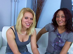 Lesbians Showing Off Their Clit Licking, Pussy Eating Skills