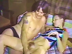 Lovely Babe Gets Her Hairy Pussy Bonked Missionary Style In A Bed Sex