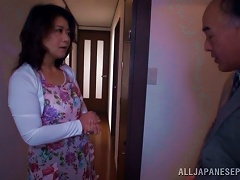 Japanese Wife With  Gets Home To Get Fucked