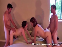 Wife Swapping Proves Spectacularly Fun For Two Couples